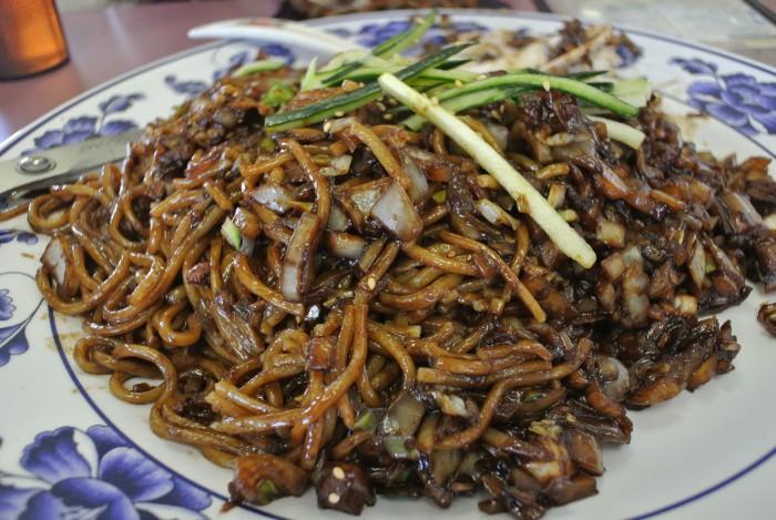 black bean noodles