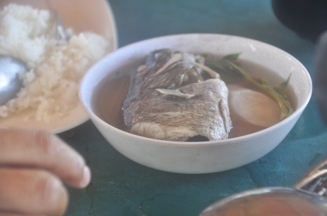 fresh fish sinigang
